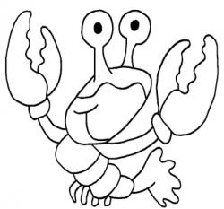 Crawfish clipart ocean animal
