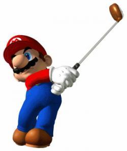 Mario clipart baseball