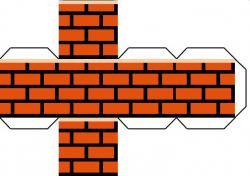 Mario clipart brick block