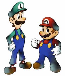 Mario clipart cartoon