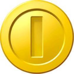 Mario clipart coin