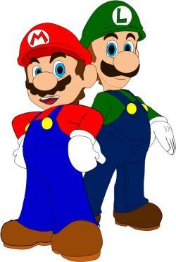 Mario clipart everyday hero