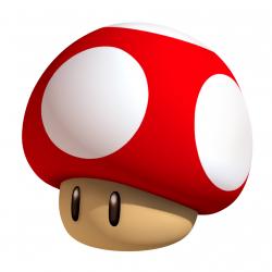 Mushroom clipart nintendo