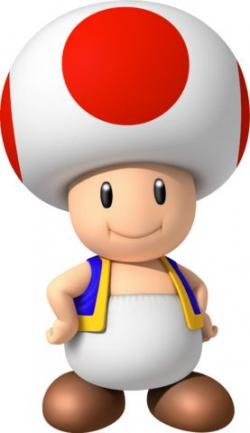 Mario clipart mario toad