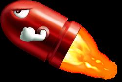 Missile clipart super mario