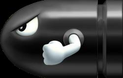 Mario clipart missile