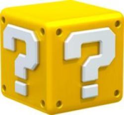 Mario clipart mystery box