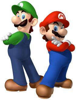 Mario clipart outline