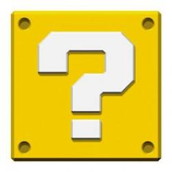 Mario clipart question mark