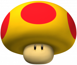 Mario clipart red mushroom