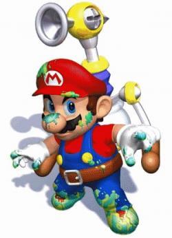 Mario clipart supper