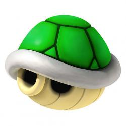 Mario clipart turtle shell