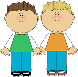 Fight clipart two brother