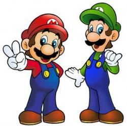 Mario clipart two brother