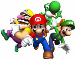 Mario clipart video game character