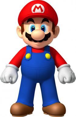 Mario clipart wall
