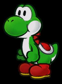 Mario clipart yoshi