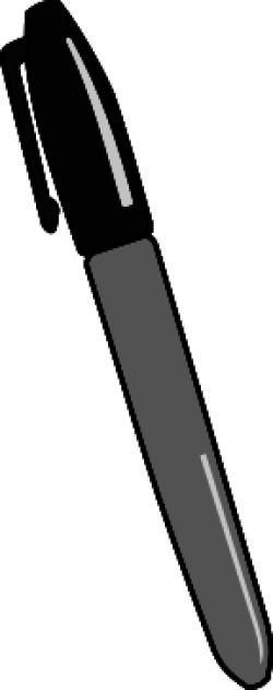 Pen clipart gray