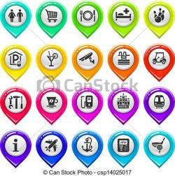 Marker clipart one