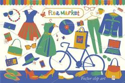 Products clipart flea market