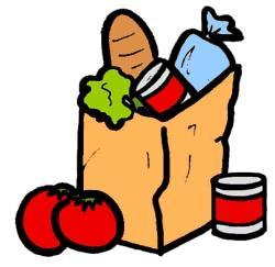 Can clipart food shelf