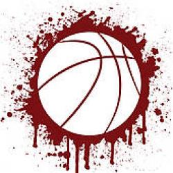 Maroon clipart basketball