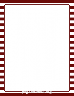 Maroon clipart border