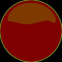 Maroon clipart circle