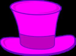 Maroon clipart top hat