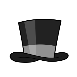 Top Hat clipart classy