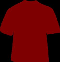 Maroon clipart tshirt