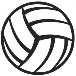 Maroon clipart volleyball