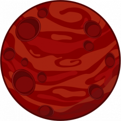 Mars clipart