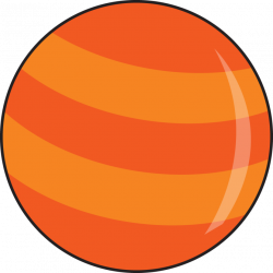 Mars clipart cartoon planet