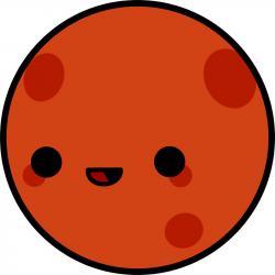 Mars clipart cute