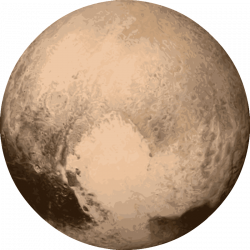 Planets clipart pluto planet