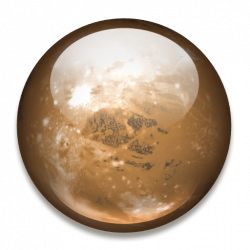 Mars clipart pluto planet