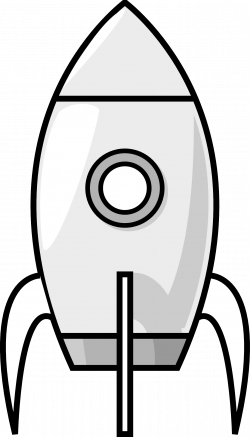 Rocket clipart vertical
