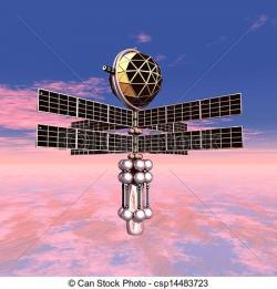 Mars clipart space probe