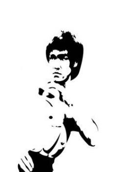 Actor clipart bruce lee