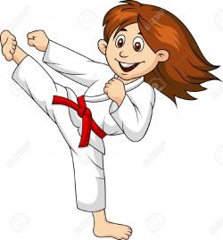 Martial Arts clipart cartoon