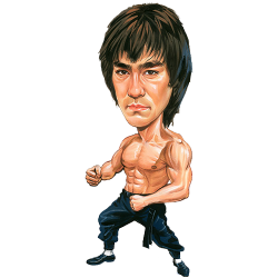 Martial Arts clipart famous person