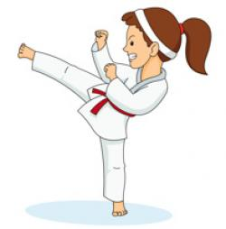 Martial Arts clipart female