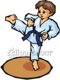 Martial Arts clipart judo