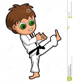 Martial Arts clipart karate kid