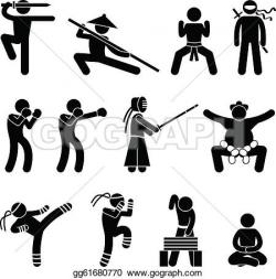 Martial Arts clipart self defence