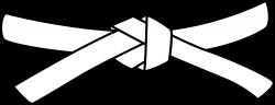 Ninja clipart belt