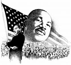 Martin Luther King clipart
