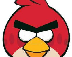 Mask clipart angry bird