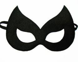 Drawn masks batwoman